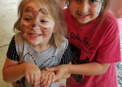 Face Painting Manderley camp